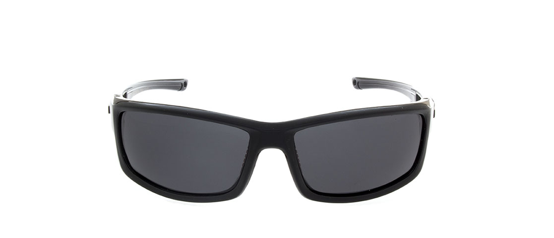 Black w/Red Accent Frame,Smoke Gray Lens