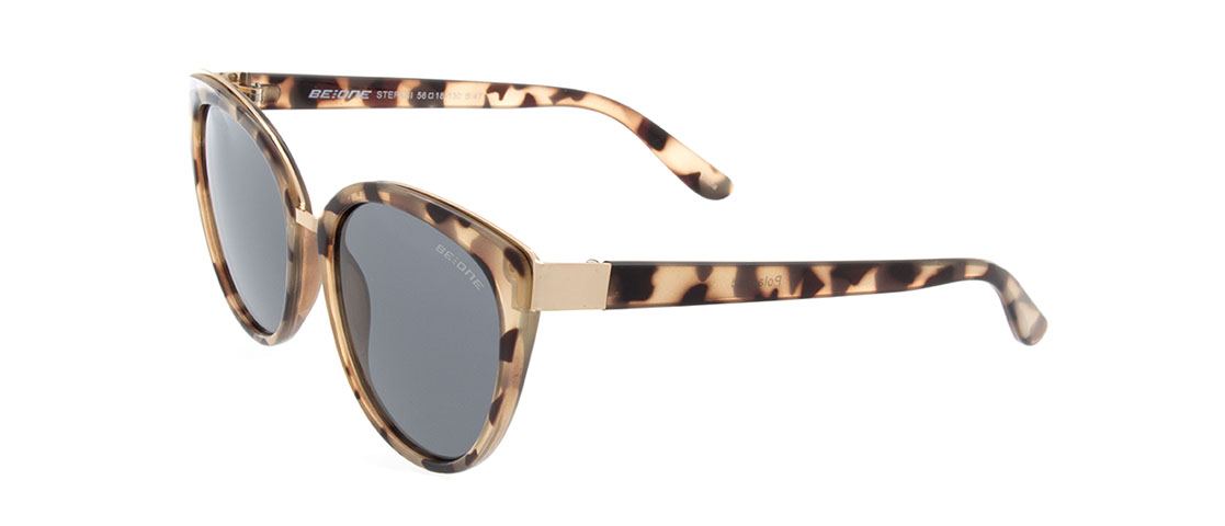 Animal Print Frame,Gray Lens