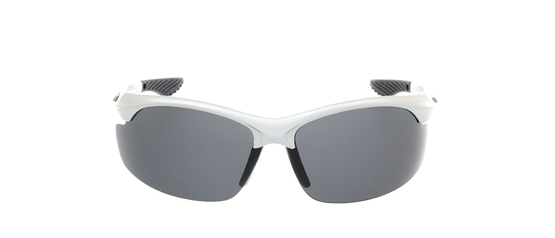 Black/Silver Frame,Smoke Gray Lens