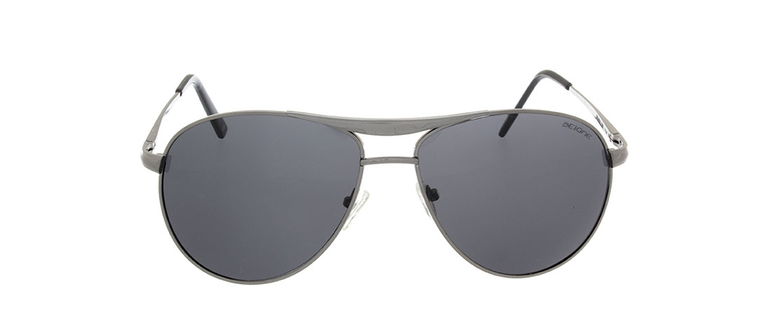 Gun Metal Frame, Smoke Gray Lens