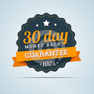 30 days No Hassle Returns